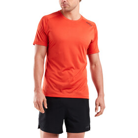 2XU GHST Shortsleeve T-Shirt Men, terra/black reflective